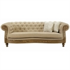Barstow Sofa In Sand Fabric