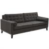 ARMEN LIVING Centennial Sofa Charcoal Chenille Fabric
