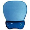 Crystal Gel Mouse Pad Wrist Rest (Blue)