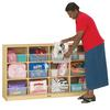 Jonti-Craft 12 Tub Large Mobile Unit - with Colored Tubs
