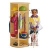 Jonti-Craft Revolving 5 Section Coat Locker