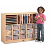 Sectional Cubbie-Tray Mobile Unit - without Trays