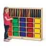 Jonti-Craft Classroom Organizer - with Clear Trays