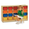 Jonti-Craft 20 Cubbie-Tray Mobile Storage - without Trays - ThriftyKYDZ
