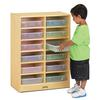 Jonti-Craft 12 Paper-Tray Mobile Storage - with Clear Paper-Trays