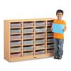 24 Paper-Tray Mobile Storage - with Clear Paper-Trays