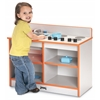 Rainbow Accents Toddler 2-in-1 Kitchen - Teal