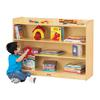 Jonti-Craft Adjustable Mobile Bookcase with Lip