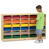 Jonti-Craft 30 Paper-Tray Mobile Storage - with Colored Paper-Trays