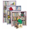 Rainbow Accents Tall Bookcase - Black