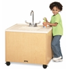 "Clean Hands Helper - 24"" Counter - Stainless Steel Sink"
