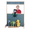 Space Saver Multi-Play Screen - Chalkboard