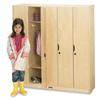 Jonti-Craft 5 Section Lockers with Doors