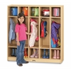 5 Section Coat Locker