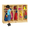 Toddler 5 Section Coat Locker - ThriftyKYDZ