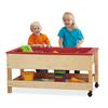 Toddler Sensory Table with Shelf