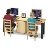 Dual Computer Lab Table