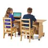 Jonti-Craft Apollo Double Computer Desk - Maple Top