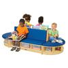 Jonti-Craft Read-a-Round 3 Piece Set - Blue