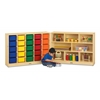 E-Z Glide 25 Cubbie-Tray Fold-n-Lock - with Colored Trays