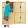 Stacking Lockable Lockers - Double Stack - ThriftyKYDZ