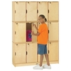 Jonti-Craft Stacking Lockable Lockers -  Triple Stack - ThriftyKYDZ