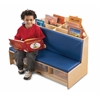Jonti-Craft Corner Literacy Nook - Red