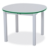 "Rainbow Accents Multi-Purpose Round Table - 14"" High - Teal"