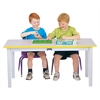 "Multi-Purpose Large Rectangle Table - 24"" High - Yellow"