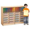 Jonti-Craft Homework Station - with Clear Paper-Trays