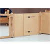 "Accordion Panel - T-height - 16"" To 24"" Wide - Plywood"