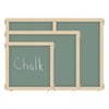 "KYDZ Suite Panel - T-height - 36"" Wide - Chalkboard"