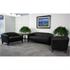Flash Furniture HERCULES Imperial Series Reception Set in Black
