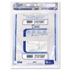 Triple Protection Tamper-Evident Deposit Bags, 20 x 20, Clear, 50/Pack