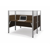 Bestar Pro-Biz Double face to face workstation in Chocolate