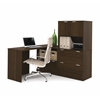 Bestar i3 by Bestar L-Shaped desk in Tuxedo