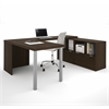 i3 U-Shaped desk in Tuxedo
