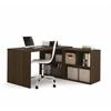 i3 L-Shaped desk in Tuxedo