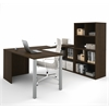 Bestar i3 by Bestar U-Shaped desk in Tuxedo
