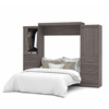 "Nebula 115"" Queen Wall bed kit in Bark Gray"