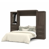 "Bestar Nebula by Bestar 115"" Queen Wall bed kit in Antigua"