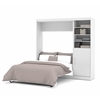 "Bestar Nebula by Bestar 84"" Full Wall bed kit in White"