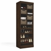 "Bestar Pur by Bestar 25"" Multi-Storage Cubby in Chocolate"