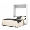 Pur Queen Wall bed in White
