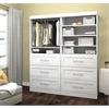 "Bestar Pur by Bestar 72"" Storage kit in White"