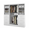 "Pur 86"" Storage kit in White"