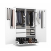 Pullout Armoire in White