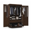 Pullout Armoire in Chocolate
