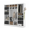 "Bestar Pur by Bestar 86"" Mudroom kit in White"