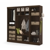 "Pur 86"" Mudroom kit in Chocolate"